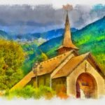 Convert Your Photos Into Oil Watercolor Painting