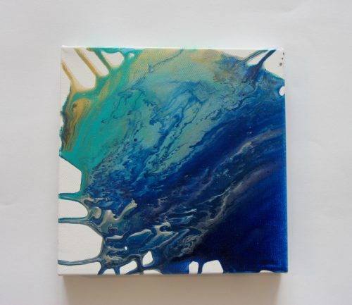 Cool Breeze Abstract Acrylic