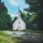 Country Church Painting Parker