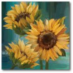 Courtside Market Farmhouse Sunflower Painting Print Canvas Reviews