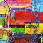Crazy Abstract Painting Chris