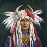 Crazy Horse Painting Gregory