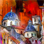 Creating Impressions Places Colourful Travel Paintings Miki Goodaboom