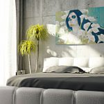 Creative Concrete Walls Bedroom Ultimate Home