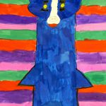 Creative License Inspired George Rodrigue Blue Dog