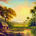 Cuban Contemporary Painters Art Landscape