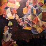 Cubist Figurative Fantasy Colorful Psychology Dreams