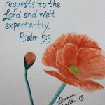 Custom Watercolor Scripture Verse