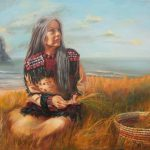 Daily Muse Susan Martin Spar Oil Painting Native American