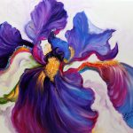 Daily S Fine Art Originals Marcia Baldwin Iris Serenity Original Oil