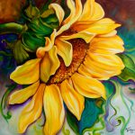 Daily Paintings Fine Art S Marcia Baldwin Sunflower Sunshine