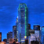 Dallas Skyline Photograph Jonathan