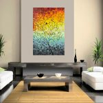 Dawn Qiqigallery Original Modern Abstract Landscape Wall Painting Office