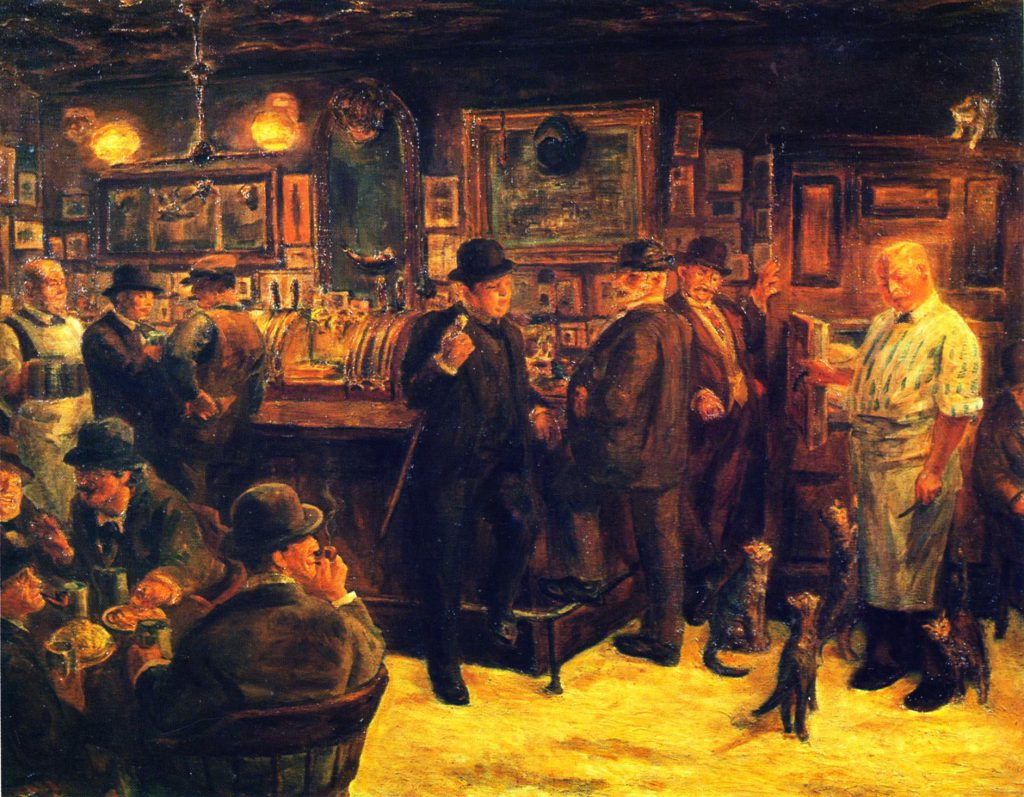 Day Mcsorley Bar Finally Admitted Women Ephemeral New
