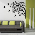 Decoration Your Home Interior Stunning Tree Wall