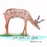 Deer Scripture Art
