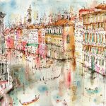 Detailing Energy World Greatest Cities Paintings Clare Caulfield