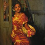 Dhiren Gala Amazing Oil Painting Looks Just Real South Indian