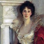 Diamond Brooch Portrayed Sargent Painting Auction Artfixdaily News