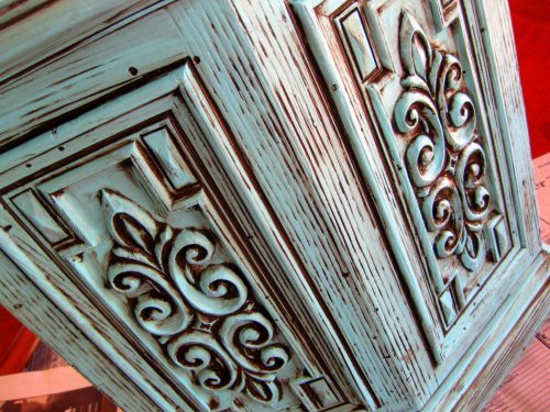 Diy Glazing Antiquing Furniture Tutorial Reality
