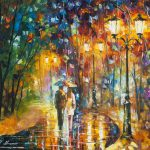 Dminished Impression Palette Knife Oil Painting Canvas Leonid