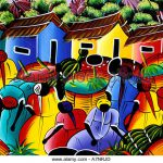 Dominican Republic Paintings Naive Painting Photos Michelle