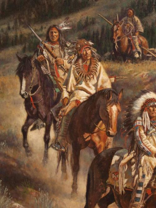 Don Oelze Native American Painting