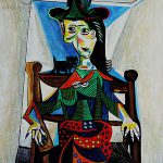 Dora Maar Cat Pablo Picasso Inspired Wikigallery Largest