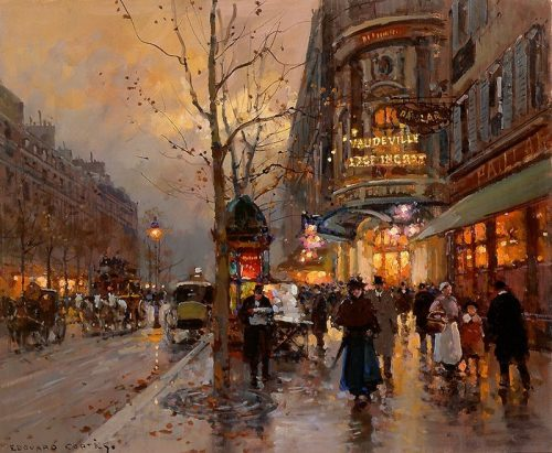 Douard Cort Post Impressionist Painter Tutt Art Pittura Scultura Poesia