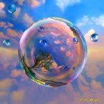 Dream Bubble Painting Robin