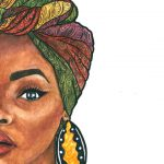 Duku Queen Watercolour Print Black Art Pinterest Watercolor