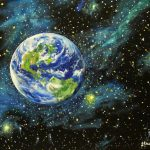 Earth Planet Art Universe Artwork
