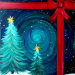 Easy Canvas Painting Ideas Christmas Noted
