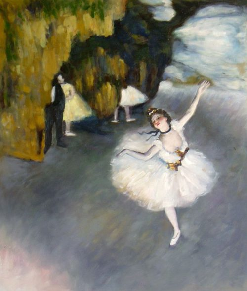 Edgar Degas Famous Painting Ballet Dancers Paris Opera House These