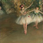 Edgar Degas Two Dancers Stage Courtauld Institute