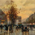 Edouard Cortes Artwork Sale Auction Biography