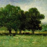 Edward Mitchell Bannister Landscape Painting Best Paintings