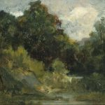 Edward Mitchell Bannister Landscape Trees Painting Best Paintings
