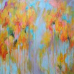 Elena Abstract Painting Huge Contemporary