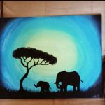 Elephant Painting Picasso Pinterest Paintings Canvases