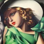 Emotionless Tamara Lempicka