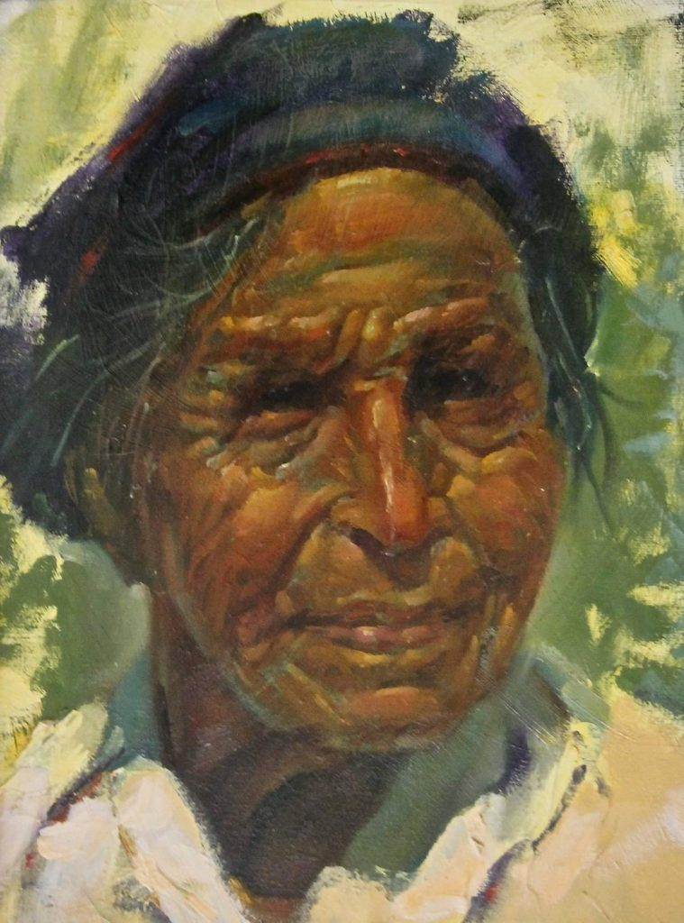 Ernesto Zepeda Native American Oil Painting Sale