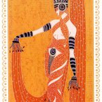 Erte Illustration Art Deco