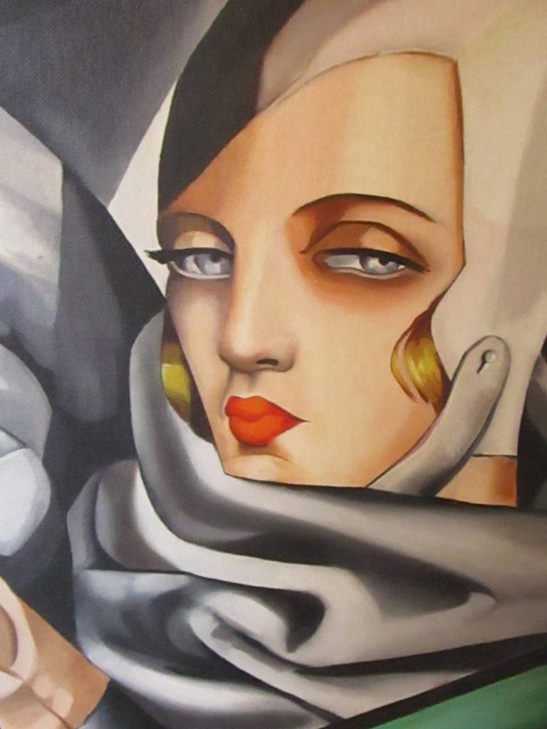 Excellent Tamara Lempicka Reproduction Oil Painting