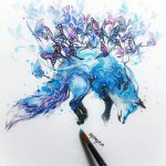 Expressive Watercolor Animal Paintings Luqman