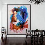 Extra Large Oversized Abstract Painting Modern