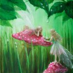Fairies Collecting Raindrops Lynne