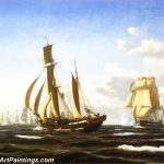Famous Boat Paintings Americas Cup