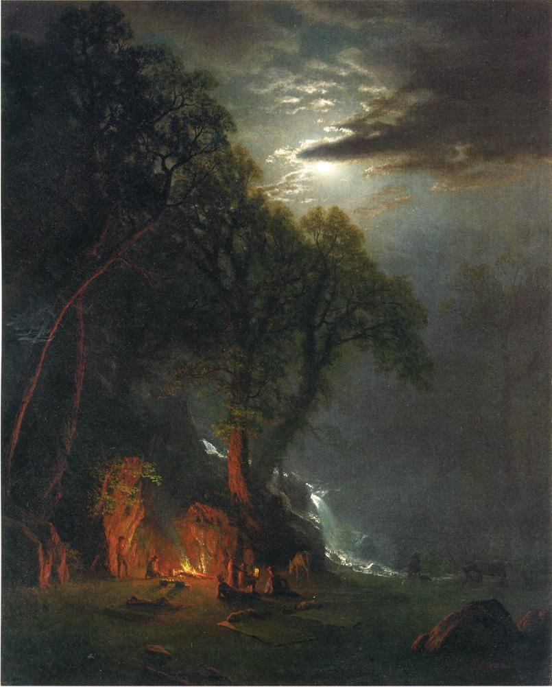 Famous Fire Paintings