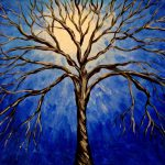 Famous Paintings Trees Have Creative Feeling Amazing Drawing
